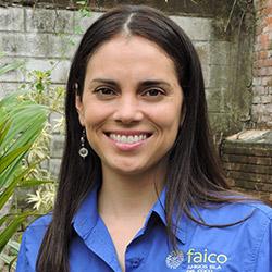 Gerente de Conservación De Faico: Andrea Montero Cordero