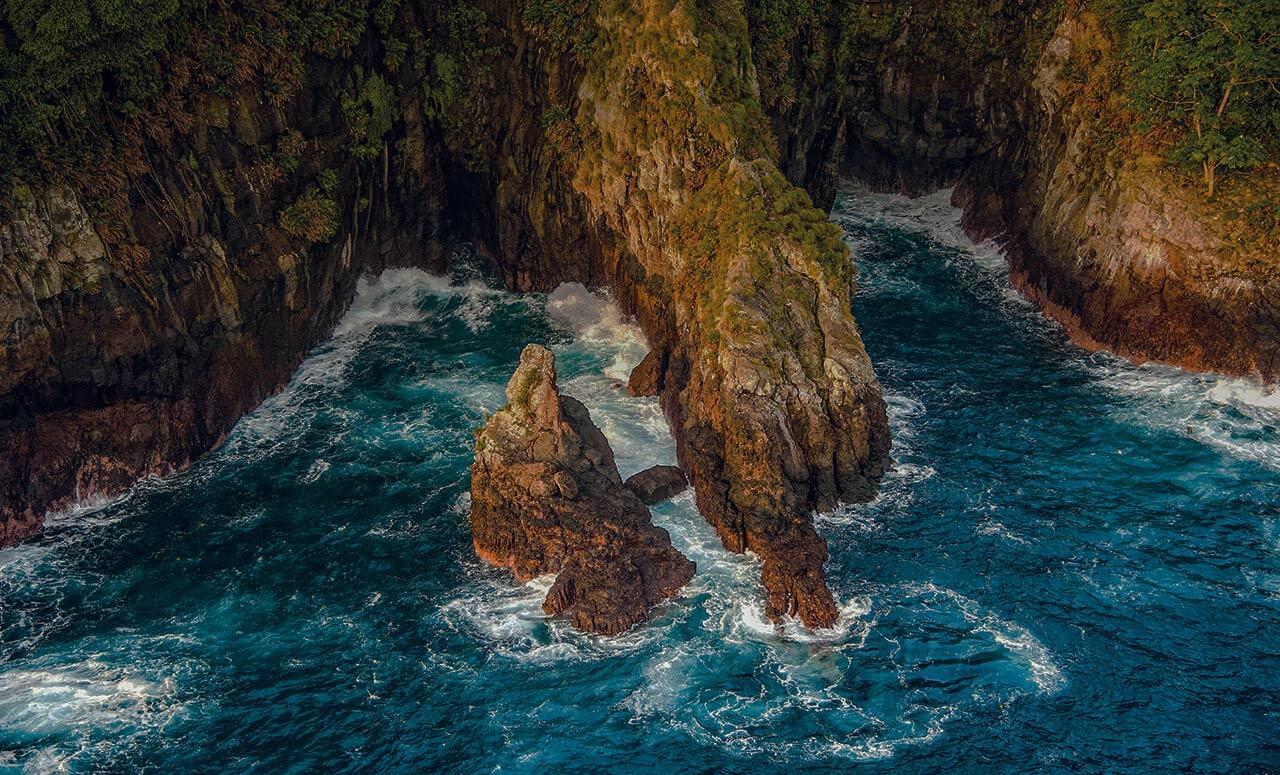 Isla del Coco acantilados FAICO