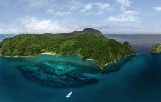 Isla del Coco, cordillera submarina