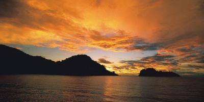 Isla del Coco atardecer, 40 aniversario