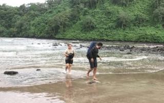 Isla del coco, playa