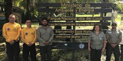 Guardaparques Isla del Coco participan de jornada electoral