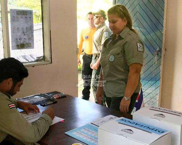 Isla del Coco con 25 votantes