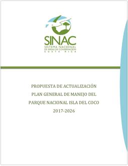 Plan General de Manejo del Parque Nacional Isla del Coco