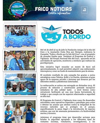 Boletín Informativo Faico 2, 2015