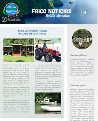 Preview boletín informativo Faico 2014