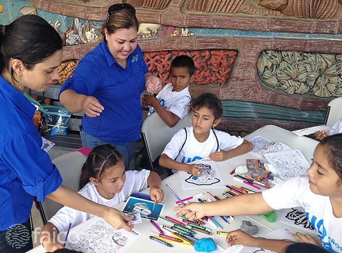 Faico, Plan de Educación Ambiental para el ACMC