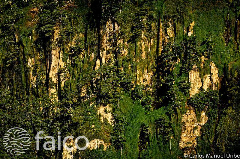 Isla del Coco, foto aérea