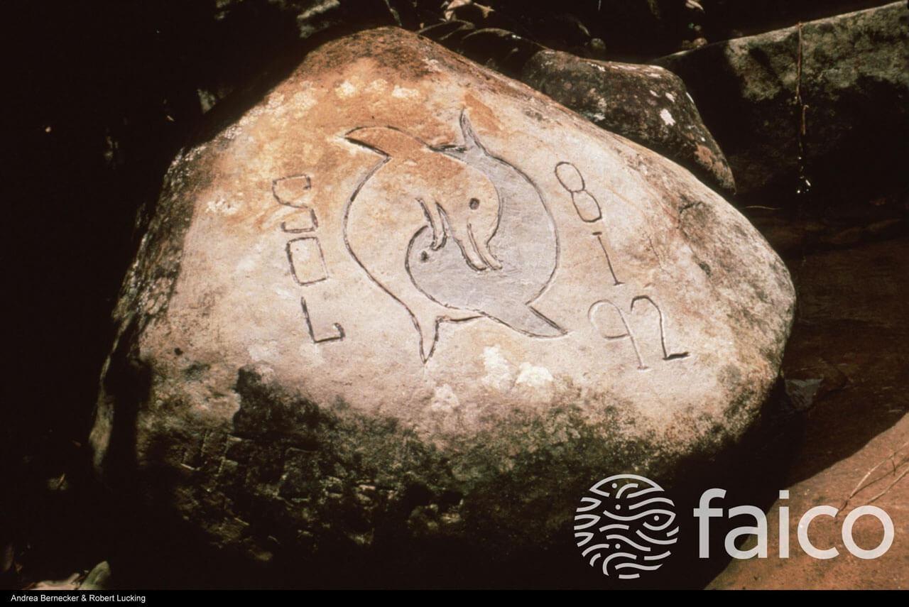 Petroglifos en la Isla del Coco, Costa Rica