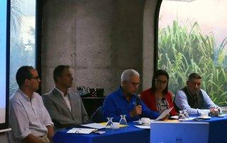 Directores Junta de Administración Faico: Esteban Brenes, Marco Quesada, Carlos Manuel Uribe, Mario Carvajal y la Directora Ejecutiva de Faico Alejandra Villalobos.