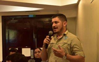 Esteban Herrera, Director Interino Área de Conservación Marina Cocos.