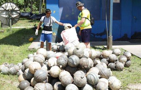 """Misión """"Limpiando nuestra Isla del Coco"""", Faico"""
