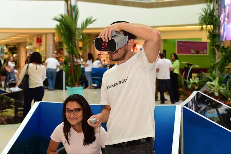 Estaciones realidad virtual.