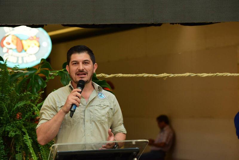 Esteban Herrera, Director Interino del Area de Conservación Marina Cocos.