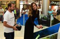 Inauguración de las estaciones de realidad virtual por parte de Natalia Carvajal, Miss CR 2018 y Emjadora de Faico.