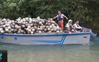 Guadaparques y voluntarios sacaron 14 toneladas de basura del Parque Nacional Isla del Coco