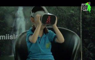 Isla del Coco llegó hasta Unidad Pedagógica Calderón Guardia gracias a la realidad virtual
