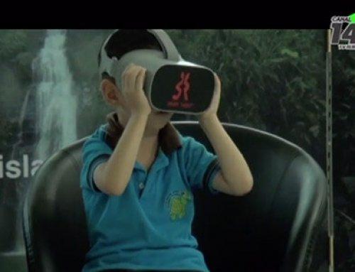La Isla del Coco llegó hasta Unidad Pedagógica Calderón Guardia gracias a la realidad virtual