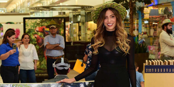 Natalia Carvajal, Miss Costa Rica, es una impulsora de la campaña de conocimiento de la Isla de Coco.