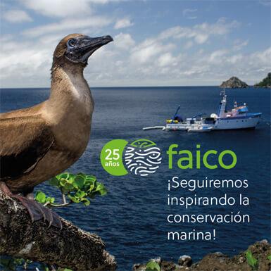 25 aniversario de Faico. Seguiremos inspirando la conservación marina