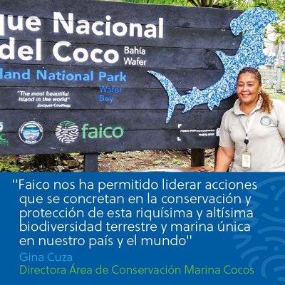 FAICO nos ha permitido liderar acciones que se concretan en la conservación y protección de la riquísima y altísima biodiversidad terrestre y marina única en nuestro país y el mundo