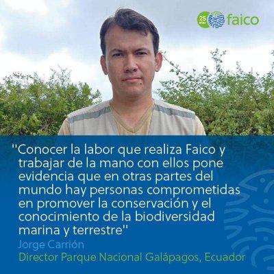 Conocer la labor que realiza la organización FAICO en Costa Rica y trabajar de la mano con quienes la conforman, realmente pone evidencia que en otras partes del mundo hay personas comprometidas en promover la conservación y el conocimiento de la biodiversidad marina