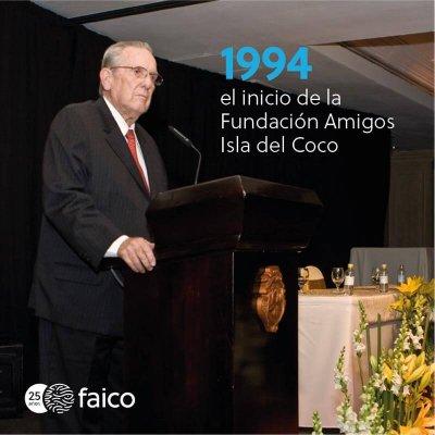 1994, el inicio de la Fundación Amigos Isla del Coco