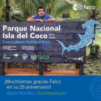 Se le agradece a la Fundación Amigos Isla del Coco Faico por su colaboración en investigación, manejo, tusimo, control y protección