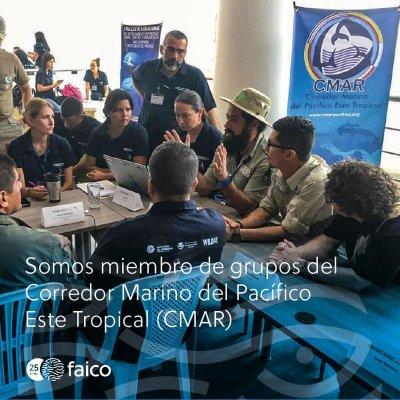 Faico es una organización aliada de la iniciativa del Corredor Marino del Pacífico Este Tropical (CMAR)