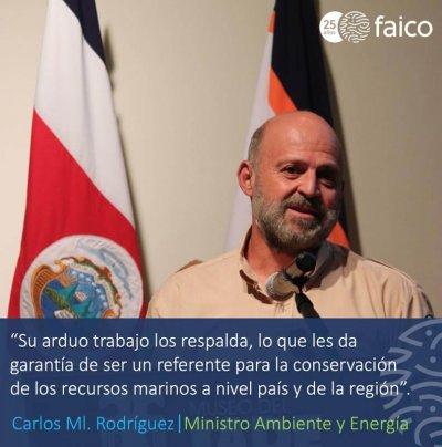 Su arduo trabajo los respalda, lo que les da garantía de ser un referente para la conservación de los recursos marinos a nivel país