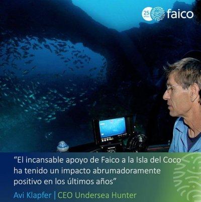 Son las ONG como FAICO y las personas que están detrás de ellas las que hacen la diferencia cuando se trata de la conservación y el bienestar de la Isla del Coco