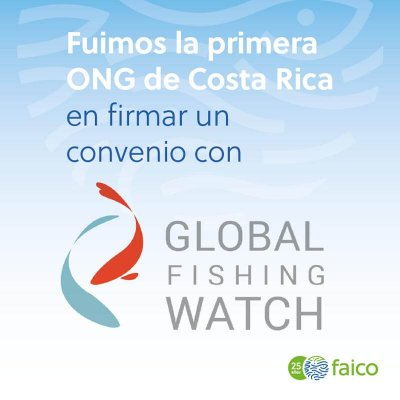 Fuimos la primera ONG de CR en firmar un convenio con Global Fishing Watch