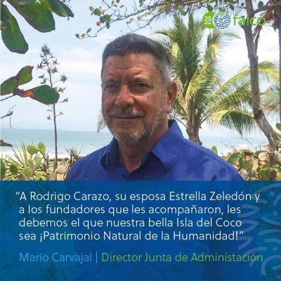 A Rodrigo Carazo y su esposa Estrella Zeledón y a los fundadores que les acompañaron
