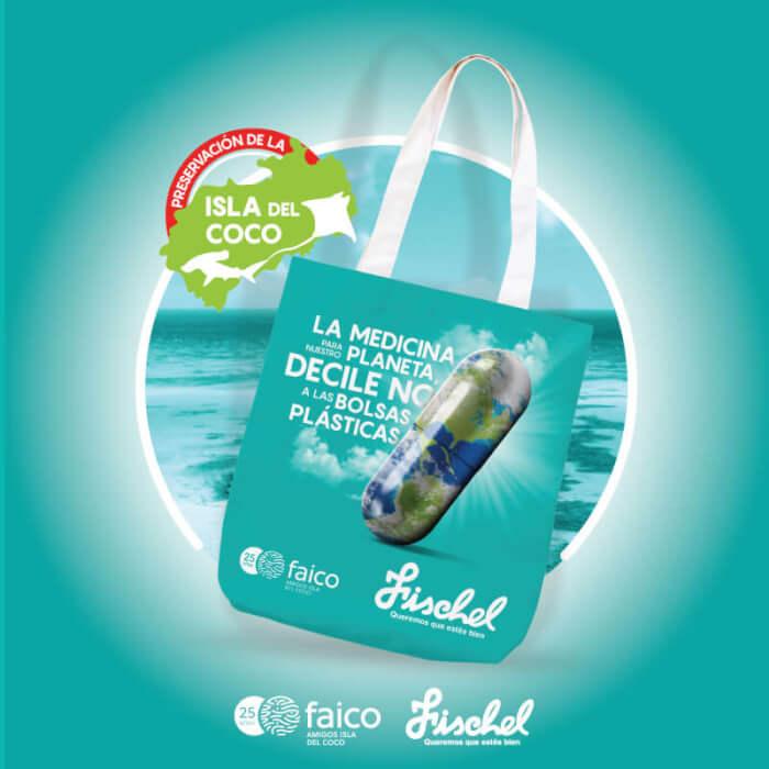 Bolsas ecológicas - Farmacias Fishel - Faico