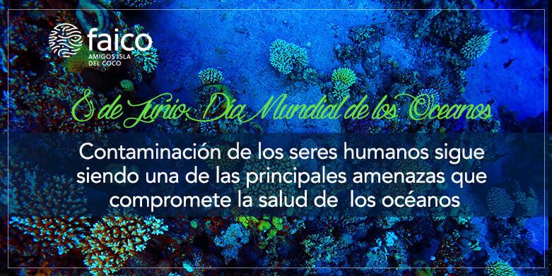 Contaminación de los seres humanos sigue siendo una de las principales amenazas que compromete la salud de los océanos