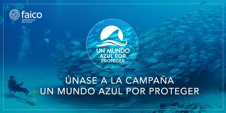 """CAMPAÑA """"UN MUNDO AZUL POR PROTEGER"""""""