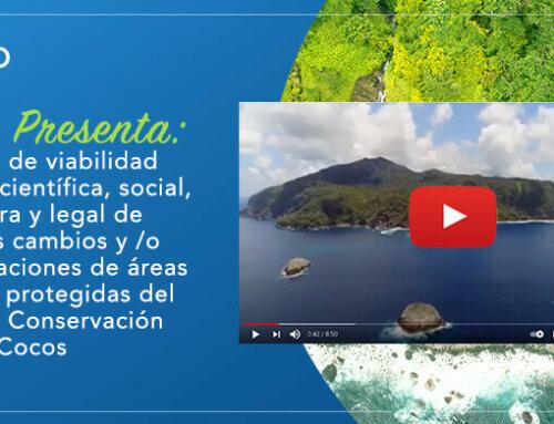 Posibles cambios y /o modificaciones de áreas marinas protegidas del Área de Conservación Marina Cocos
