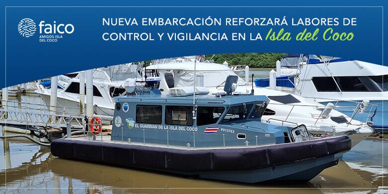 Nueva embarcación reforzará labores de control y vigilancia en la Isla del Coco